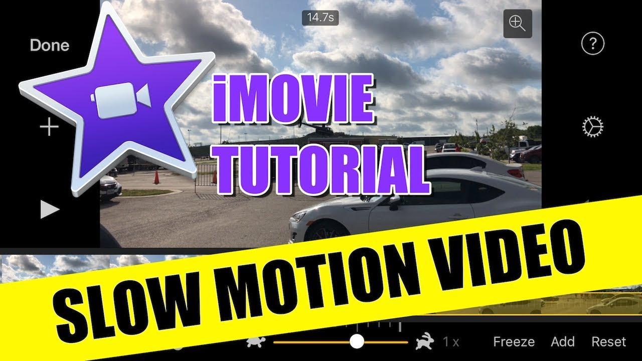 ipad slow motion video