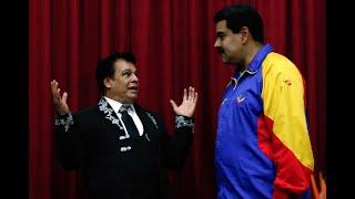 Juan Gabriel le canta las Mañanitas a Nicolás Maduro