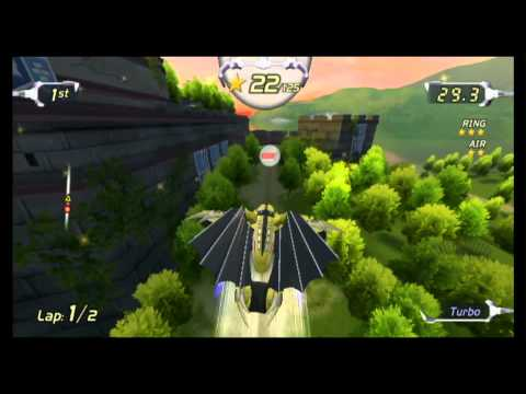 Classic Game Room - EXCITEBOTS TRICK RACING Review For Wii