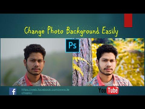 PS Background Change Photo Editing 2020 | PS stylish Photo Editing | photo Editing | TechOpic | NSR