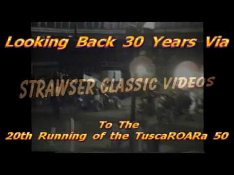 """Wolfgang  wins  his  4th Tusca""""ROAR""""a 50  At Port Royal Speedway  1987"""