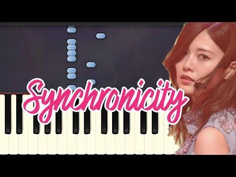 Synchronicity-Nogizaka46 (Piano Tutorial Synthesia)