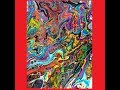 """Fluid acrylics,Wow! """" Paisley"""" dirty pour , risk, on an expensive canvas #2900- 6.5.18"""