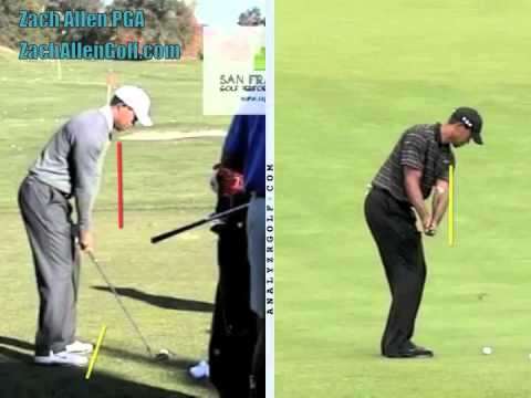 Tiger Woods Pitch vs. Full Swing