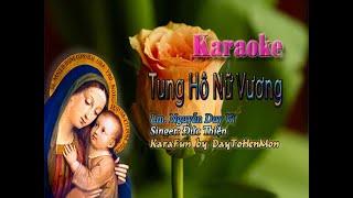 Tung Hô Nữ Vương - Lm. Nguyễn Duy Vi (Đơn Ca)