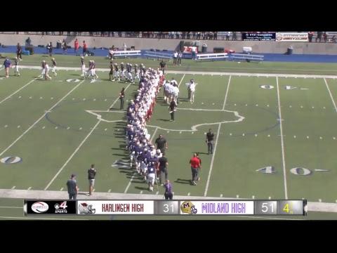 Harlingen vs. Midland High Football Game