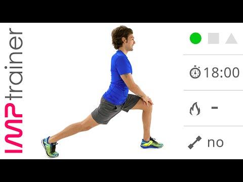 Stretching Statico e Dinamico Per Gambe, Glutei e Bacino
