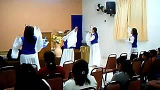 coreografia musica promesa de deus da cantora cassiane