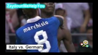 Italy vs Germany 2-1 Euro 2012 Semi-Final HD 28/6/2012 ㋡