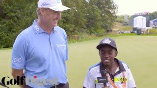 11-Year-Old Golfer Matty Du Plessis Interviews Ernie Els