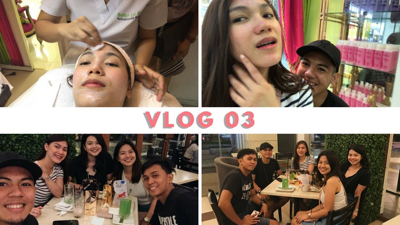 VLOG 03: PAMPER TIME (FACIAL W/ FAM) + MEET MY COLLEGE FRIENDS | Francheska Garchitorena