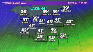 Accumulating snow moves in tonight for Northeast Ohio | Forecast April 20, 2021