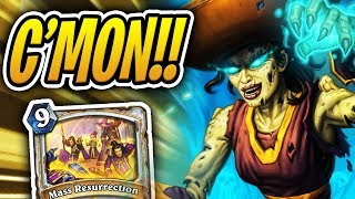 Can I Get Some BIG FAT Resurrections!? | Mass Resurrection Priest | Rise of Shadows | Hearthstone