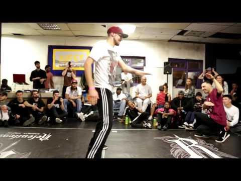 T-Boy & KC vs Alper  Hiphop & Popping Battle  Rain Spring Jam