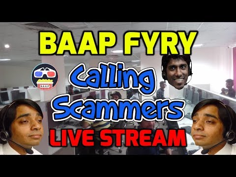 🔵 Fyry & Friends 📞Calling Scammers Live - Scam Baiting Prank Calls #funny #scambait #prank #bait