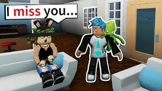 MOVING IN WITH MY EX GIRLFRIEND?! (Roblox Bloxburg)