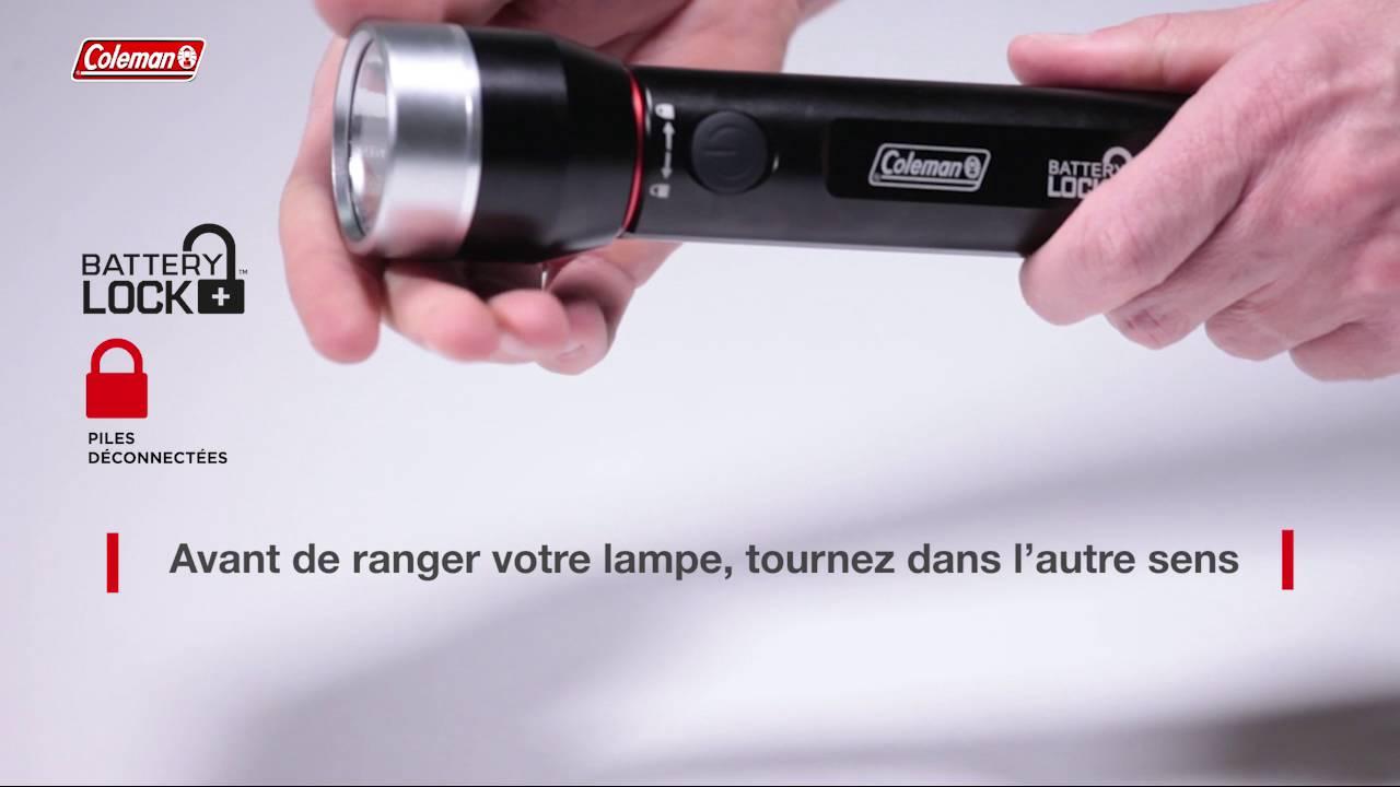 Lampe Torche Fr Coleman® Batterylock™ Divide350 Led qUGLjpMSzV