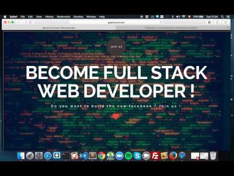 Formation - Become Full Stack Web Developer