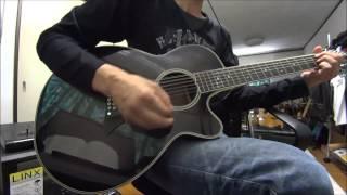 使用ギター TAKAMINE NPT-110-12 プリアンプ不使用 12弦は何回か弾いて...