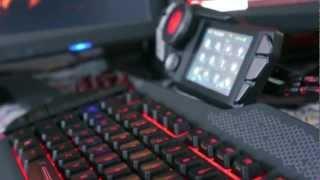 Mad Catz Cyborg Strike 7 Keyboard Review