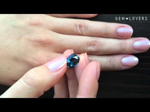 Драгоценная синяя шпинель  5,00 карата