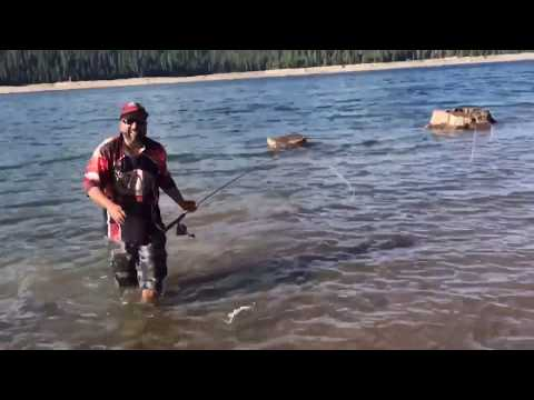 Catching Trout At French Meadows Reservoir