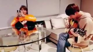 Jimin cantando Butterfly /ft Jin