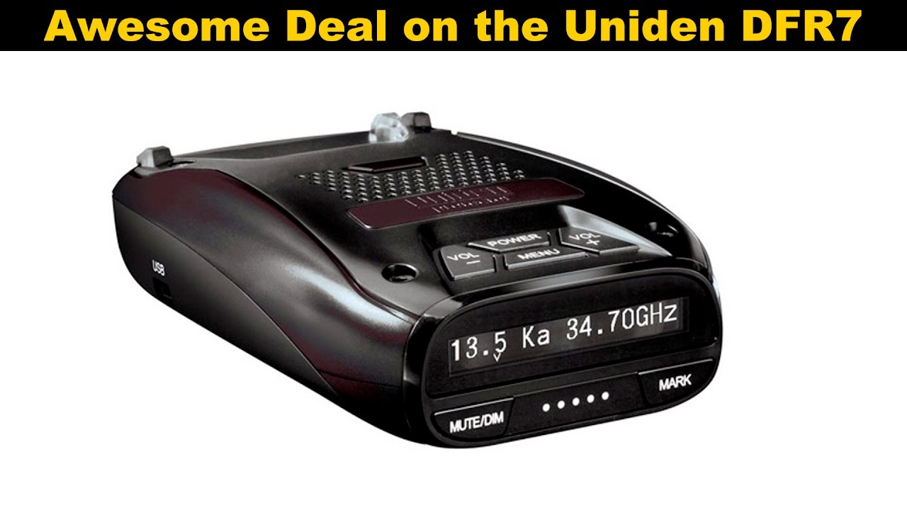 Best deal I've seen on a new Uniden DFR7!
