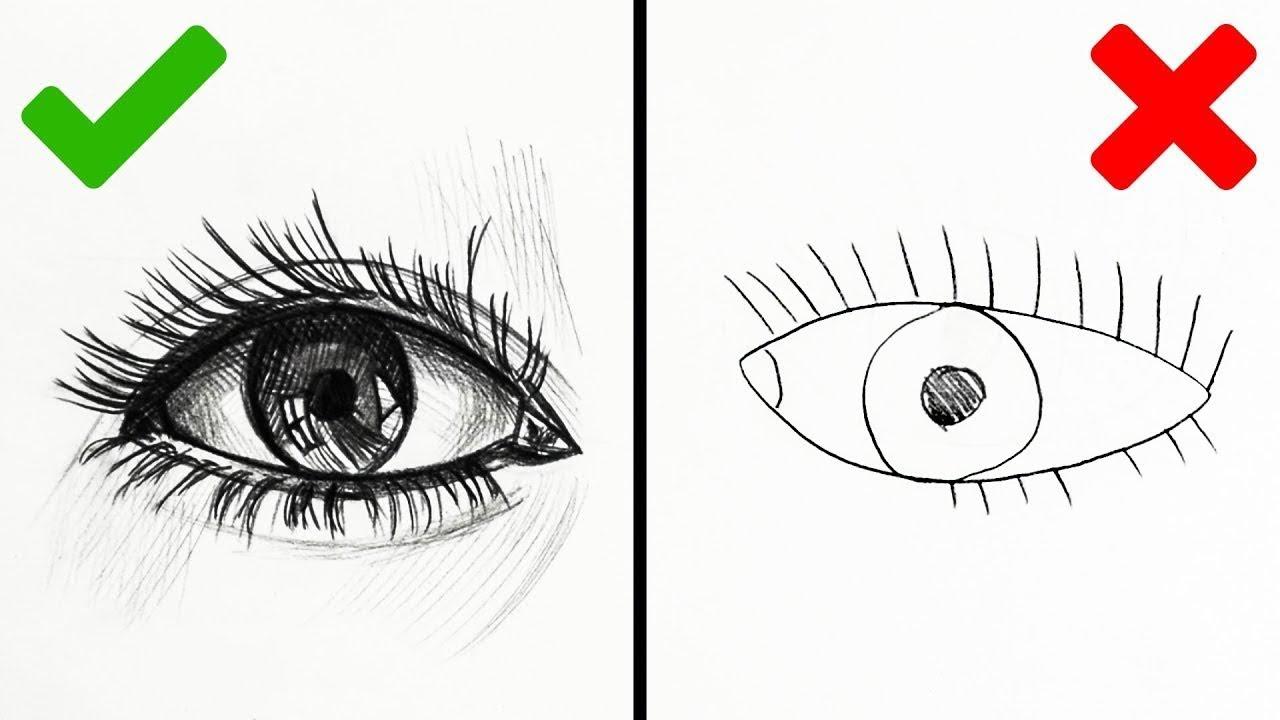 Dessin Sympa 22 astuces de dessin absolument brillantes pour les dÉbutants - youtube