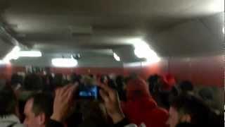 Tunnel after TFC v. Santos Laguna CONCACAF game
