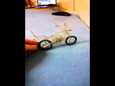 Motorrad Aus Draht