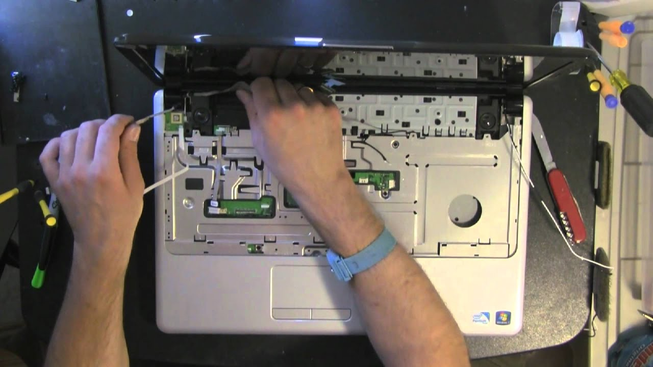 maxresdefault dell inspiron 1750 take apart video, disassemble, how to open  at nearapp.co