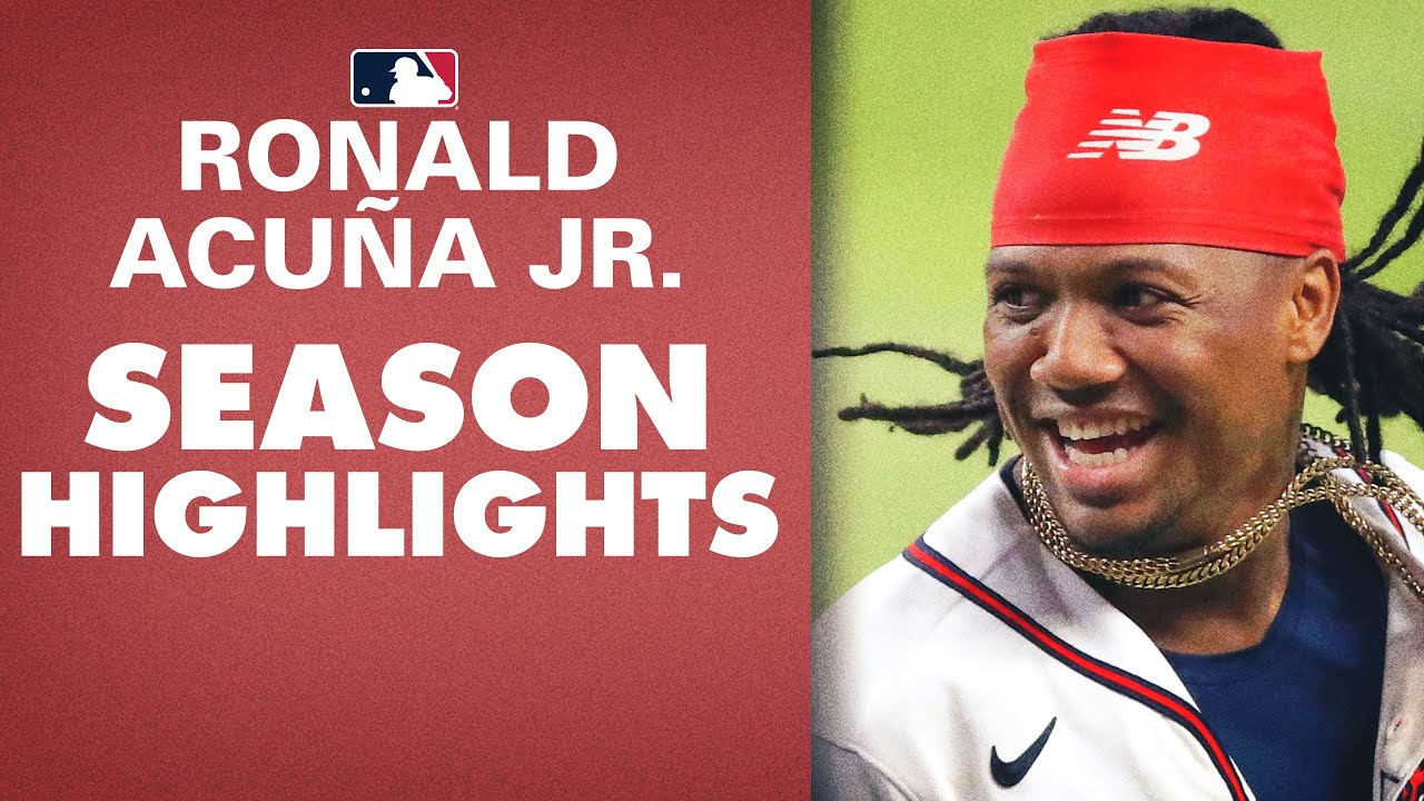 Ronnie continues to dominate!! | Ronald Acuña Jr. 2020 Highlights (Braves star)