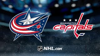 Kuznetsov, Ovechkin lead Caps by Blue Jackets, 4-3