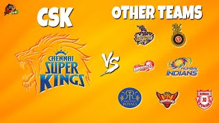 CSK Vs Other IPL Teams 2018 | #WhistlePodu | Ca...