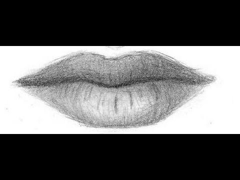 How To Draw Realistic Lips And Narrated Lips Youtube