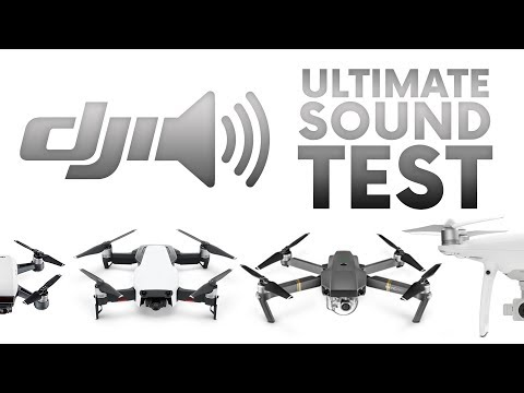 Ultimate DJI drones sound test