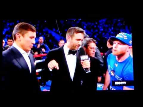 Thumbnail: Canelo vs triple g is on