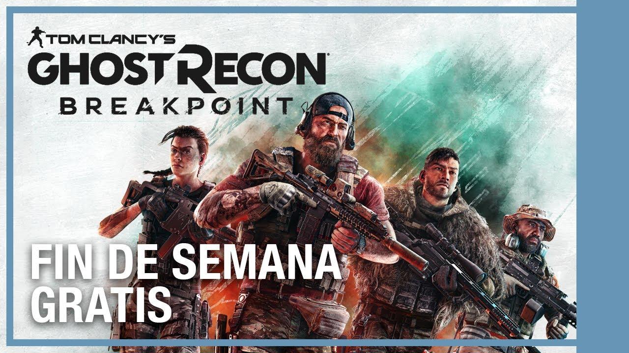 Ghost Recon Breakpoint - Fin De Semana Gratis 27 - 31 De Mayo | Ubisoft LATAM