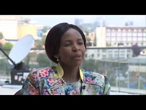 26th Ordinary AU Summit Addis Ababa, Ethiopia: Min Maite Nkoana Mashabane Interview.