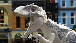 LEGO Jurassic World - How to Stop Indominus Rex! HD 1080