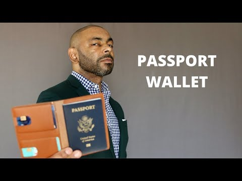 How To And Why You Should Buy A Passport Wallet