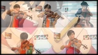 Opening Dragon Ball - Makafushigi Adventure! -摩訶不思議アドベンチャー!-Strings cover.