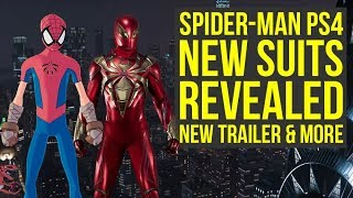 Spider Man PS4 DLC Suits REVEALED, New DLC Trailer & More! (Spiderman PS4 DLC Suits)