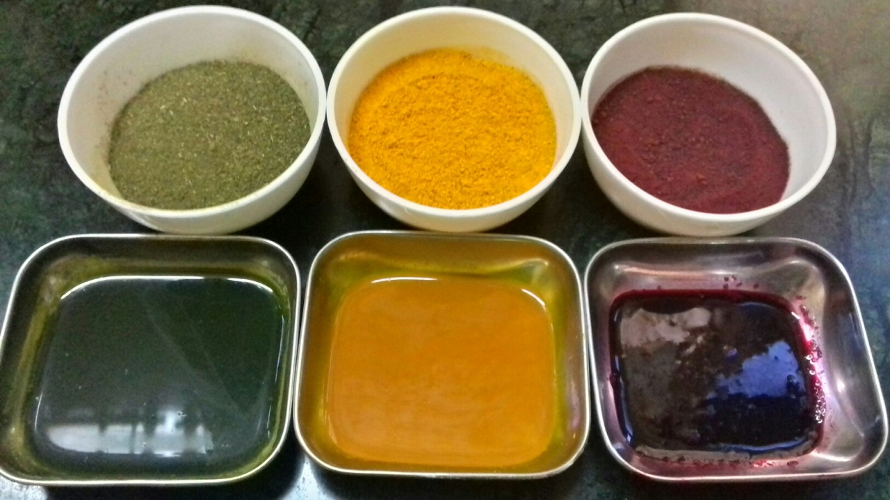 Homemade Herbal Food Color | Natural Food Colour | Food Color ...