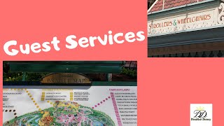 Disneyland Guest Services(first aid, baby care centers, etc)