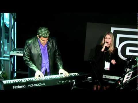 Rick DePiro - Lady Gaga - Speechless - Sheena Loza NAMM Roland RD300NX.mpg