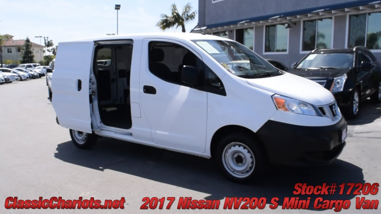 2017 Nissan Nv200 S Mini Cargo Van 17206 Youtube
