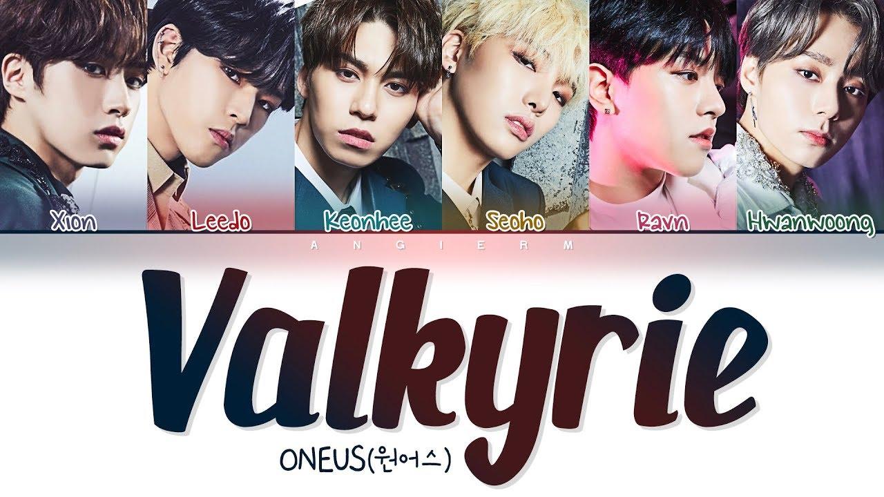 Download ONEUS(원어스) - 'Valkyrie (발키리)' Lyrics (Color Coded Han/Rom/Eng/가사)