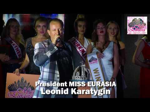 MISS EURASIA-2016! WINNER!!!